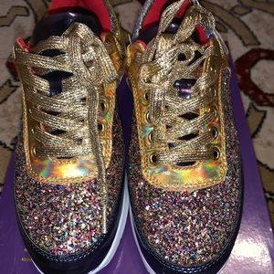 Woman's blinged our sneakers